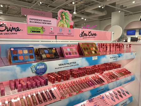 Lime Crime Features Ar Technology On